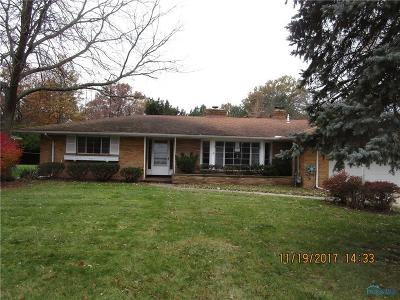 Toledo OH Single Family Home For Sale: $85,000