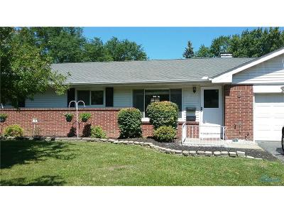 Toledo OH Single Family Home For Sale: $139,500
