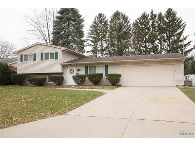 Toledo OH Single Family Home For Sale: $127,900