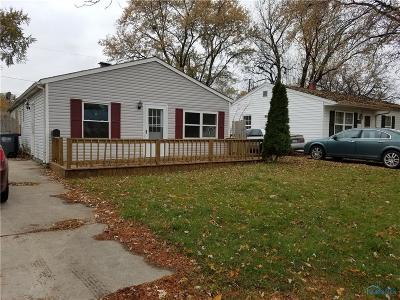 Toledo Single Family Home For Sale: 3747 Dixie Drive