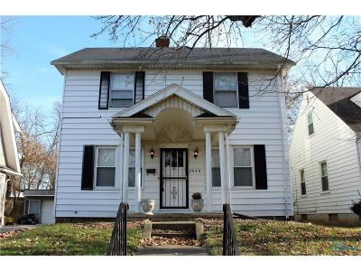 Toledo OH Single Family Home For Sale: $62,000