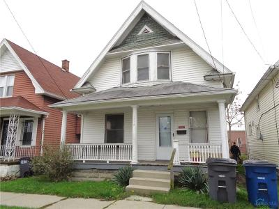 Toledo OH Single Family Home For Sale: $5,000