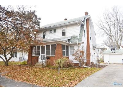 Toledo Single Family Home For Sale: 4423 Pennfield Road