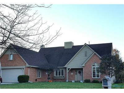 Perrysburg Single Family Home Contingent: 26546 Mingo Drive