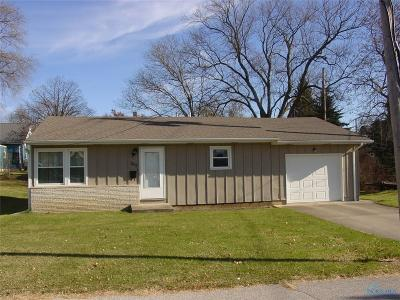 Montpelier OH Single Family Home For Sale: $58,900