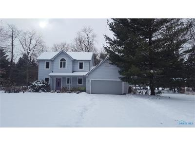 Ottawa Hills, Monclova, Oregon, Rossford, Swanton, Berkey, Metamora, Lyons, Whitehouse, Waterville Single Family Home For Sale: 13835 Reed Road