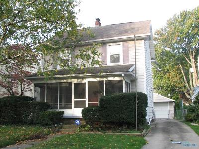 Toledo Single Family Home For Sale: 3823 Woodmont Road