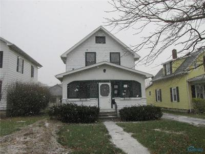 Woodville OH Single Family Home For Sale: $64,900