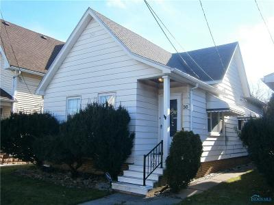 Toledo Single Family Home For Sale: 36 E Central Avenue