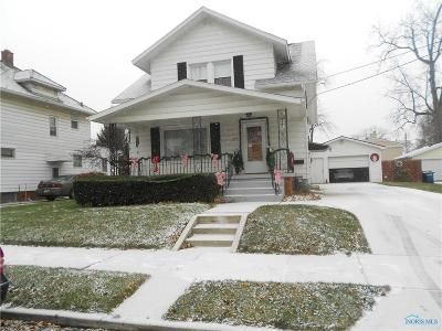 Toledo Single Family Home For Sale: 317 Burger Street