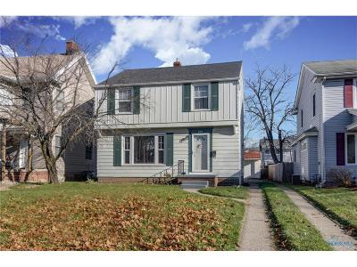Toledo Single Family Home For Sale: 869 Hampton Avenue