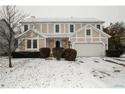 Perrysburg Single Family Home Contingent: 2216 Coe Court