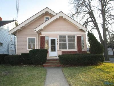 Toledo Single Family Home For Sale: 502 E Streicher Street