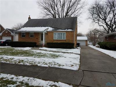 Toledo Single Family Home For Sale: 1624 Charmaine Drive