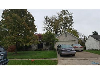 Maumee Single Family Home For Sale: 1675 S Henthorne