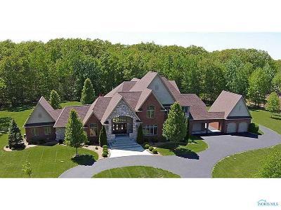Ottawa Hills, Monclova, Oregon, Rossford, Swanton, Berkey, Metamora, Lyons, Whitehouse, Waterville Single Family Home For Sale: 4010 Laplante Road