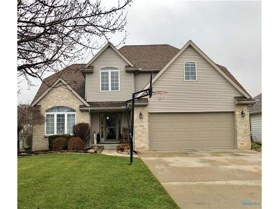 Perrysburg Single Family Home Contingent: 7180 E Lake Court