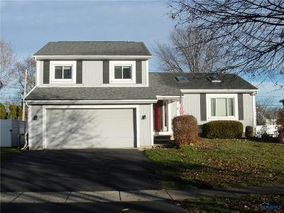 Maumee Single Family Home Contingent: 631 Centerfield Drive