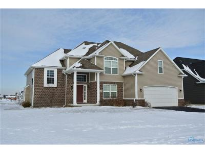 Perrysburg Single Family Home For Sale: 10750 Sun Trace