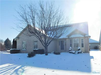 Maumee Single Family Home For Sale: 6951 Shoreview Court