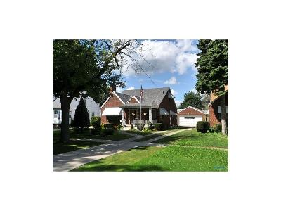 Toledo OH Single Family Home For Sale: $98,500