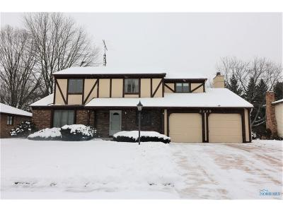 Maumee Single Family Home Contingent: 2338 Cedarwood Drive