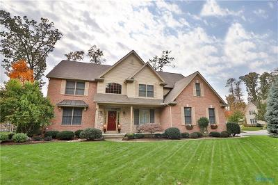 Maumee Single Family Home Contingent: 7767 Forest Creek Court