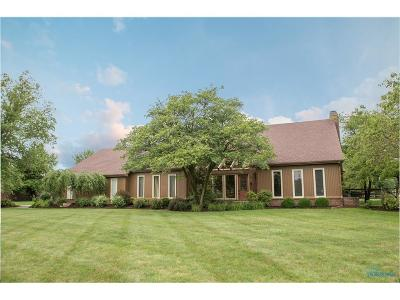 Perrysburg Single Family Home Contingent: 25673 Willowbend Road
