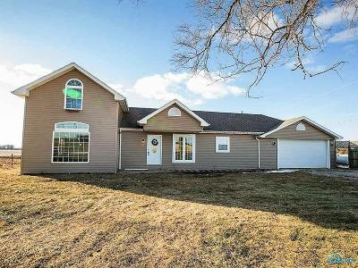 Ottawa Hills, Monclova, Oregon, Rossford, Swanton, Berkey, Metamora, Lyons, Whitehouse, Waterville Single Family Home For Sale: 17263 County Road 1 Road