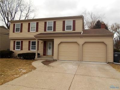 Maumee Single Family Home For Sale: 636 Brahier Lane