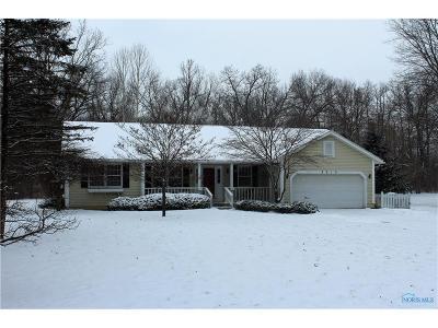 Toledo Single Family Home For Sale: 8010 Holstein Road