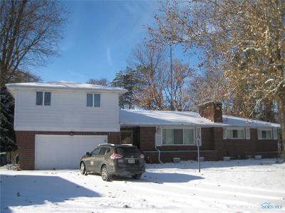 Toledo Single Family Home Contingent: 1517 Cherry Valley Road