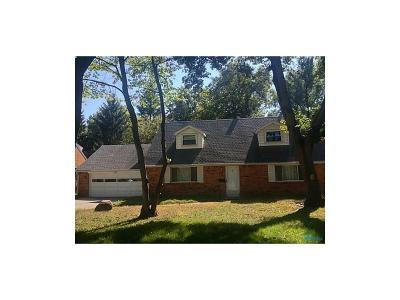 Toledo Single Family Home For Sale: 4145 W Central Avenue