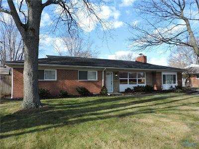 Toledo Single Family Home Contingent: 3627 Westchester Road