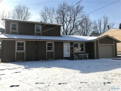 Toledo OH Single Family Home For Sale: $104,900
