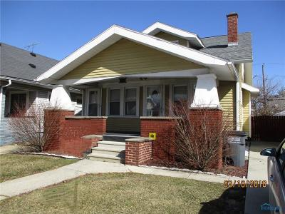 Toledo OH Single Family Home For Sale: $37,900