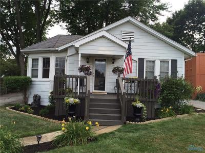 Maumee Single Family Home Contingent: 859 Lochhaven Boulevard