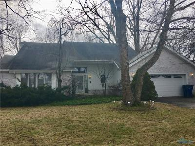 Maumee Single Family Home For Sale: 6629 Fawn Lane