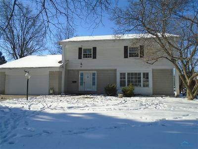Toledo Single Family Home For Sale: 1844 Pinelawn Drive