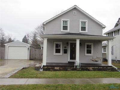 Maumee OH Single Family Home Sold: $172,900