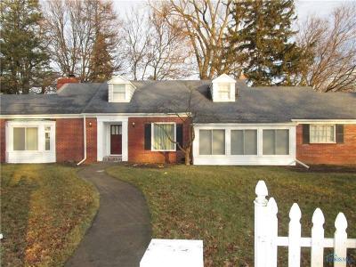 Toledo Single Family Home For Sale: 5043 W Bancroft Street