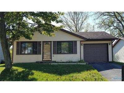 Toledo Single Family Home For Sale: 3607 Willow Run Drive