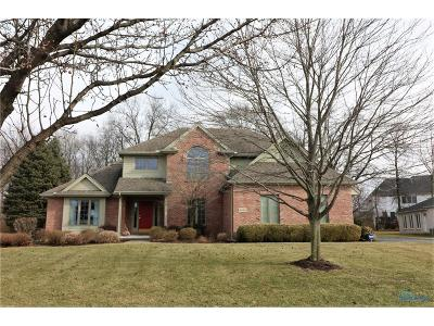 Maumee Single Family Home Contingent: 8006 N Bridge Way