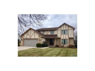 Maumee Single Family Home For Sale: 6941 Heather Cove Place