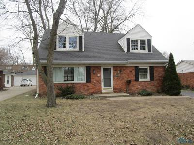 Sylvania Single Family Home For Sale: 5626 Elliott Drive