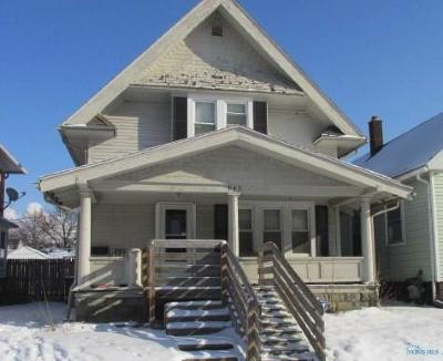 Toledo OH Single Family Home For Sale: $12,500