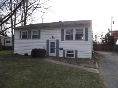 Sylvania OH Single Family Home For Sale: $119,900