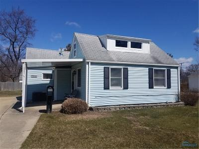 Toledo OH Single Family Home For Sale: $53,500
