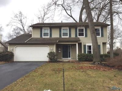 Toledo Single Family Home For Sale: 2454 Hampsford Circle