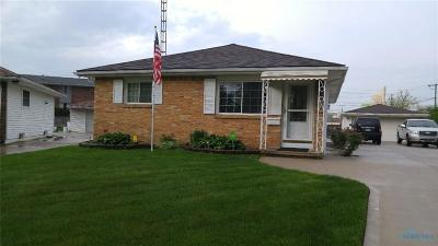 Toledo Single Family Home For Sale: 823 Woodlawn Drive